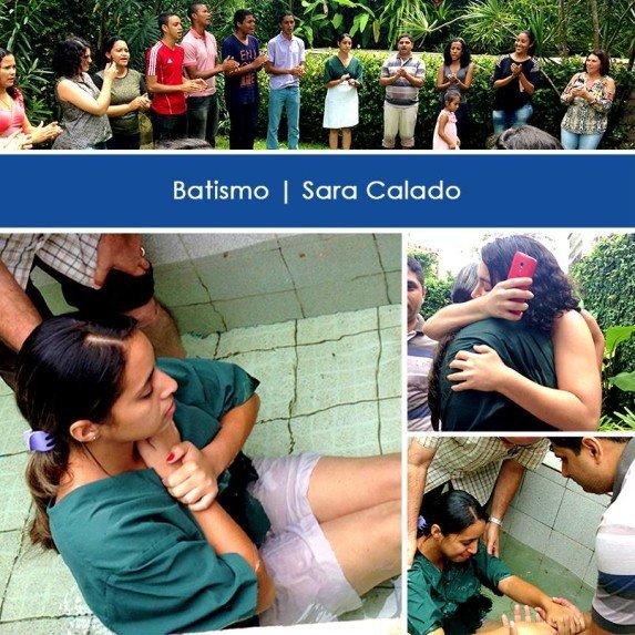 Sara's baptism