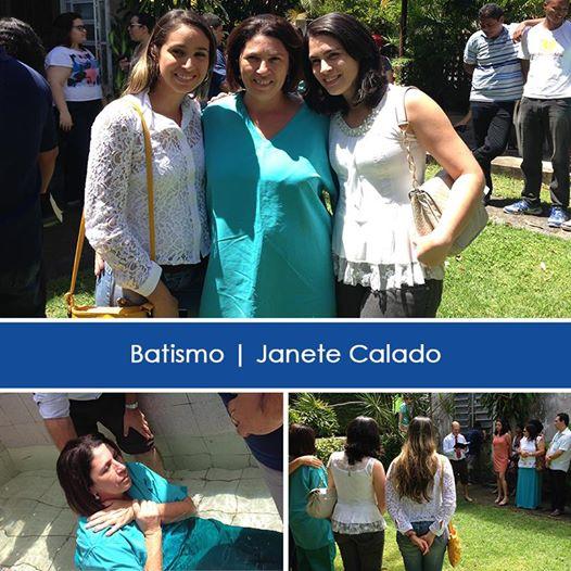 Janete's baptism