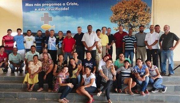 Meeting with the rural church in Caruaru, PE