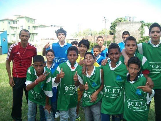 Kid's soccer ministry.