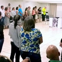 Twenty-six married couples involved in the leadership of a dozen congregations spent the weekend studying how to have a closer walk with God.