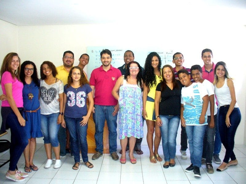 One of our English as a second language classes